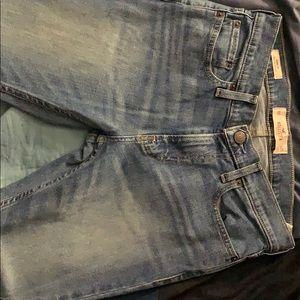 Medium light blue jeans